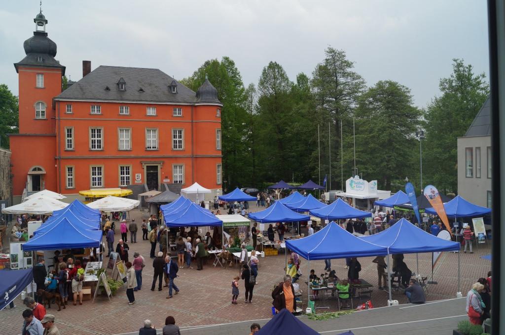 1. Mai auf Burg Wissem   © B. von Berg