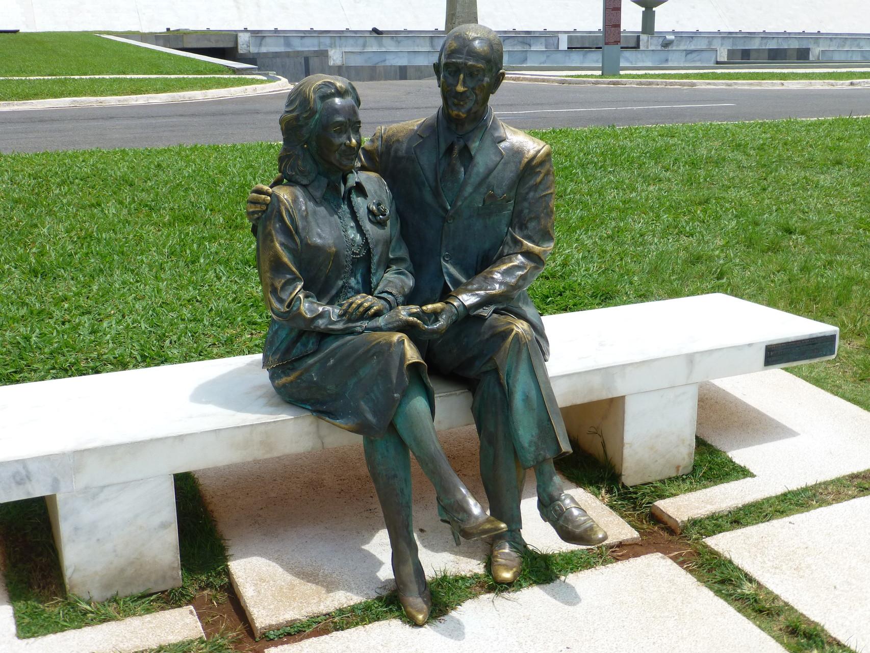 Juscelino und Sarah Kubische