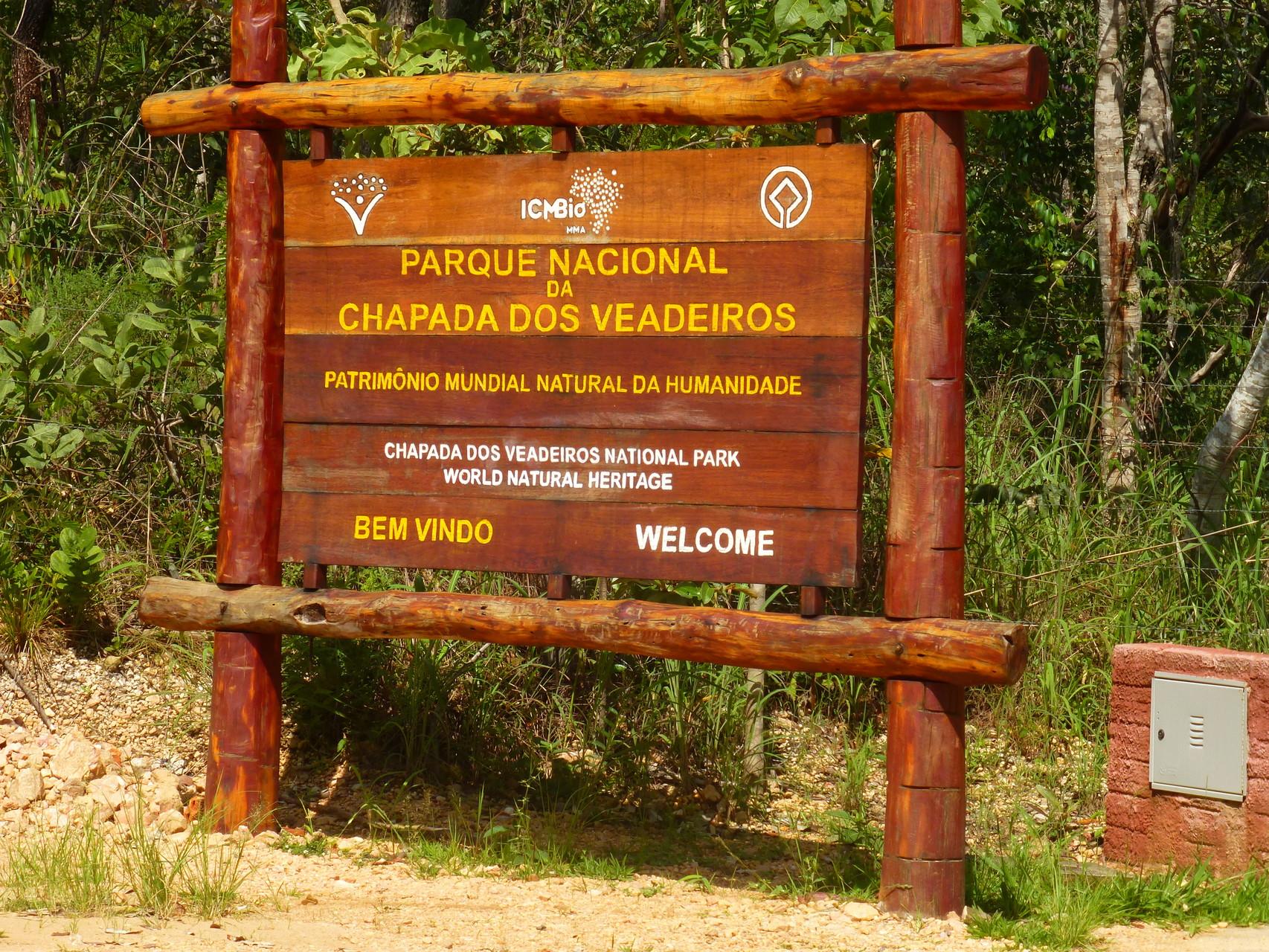 Naturschutzpark - Chapada dos Veadeiros