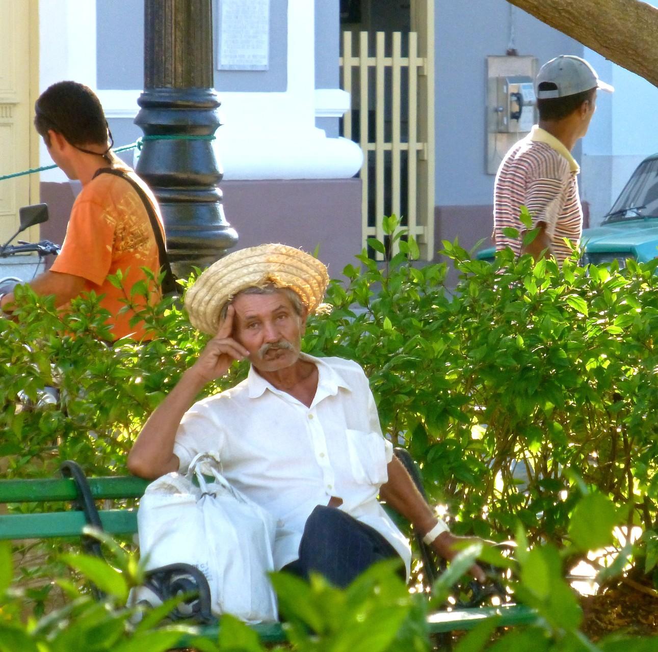 Cienfuegos: Träumen im Park