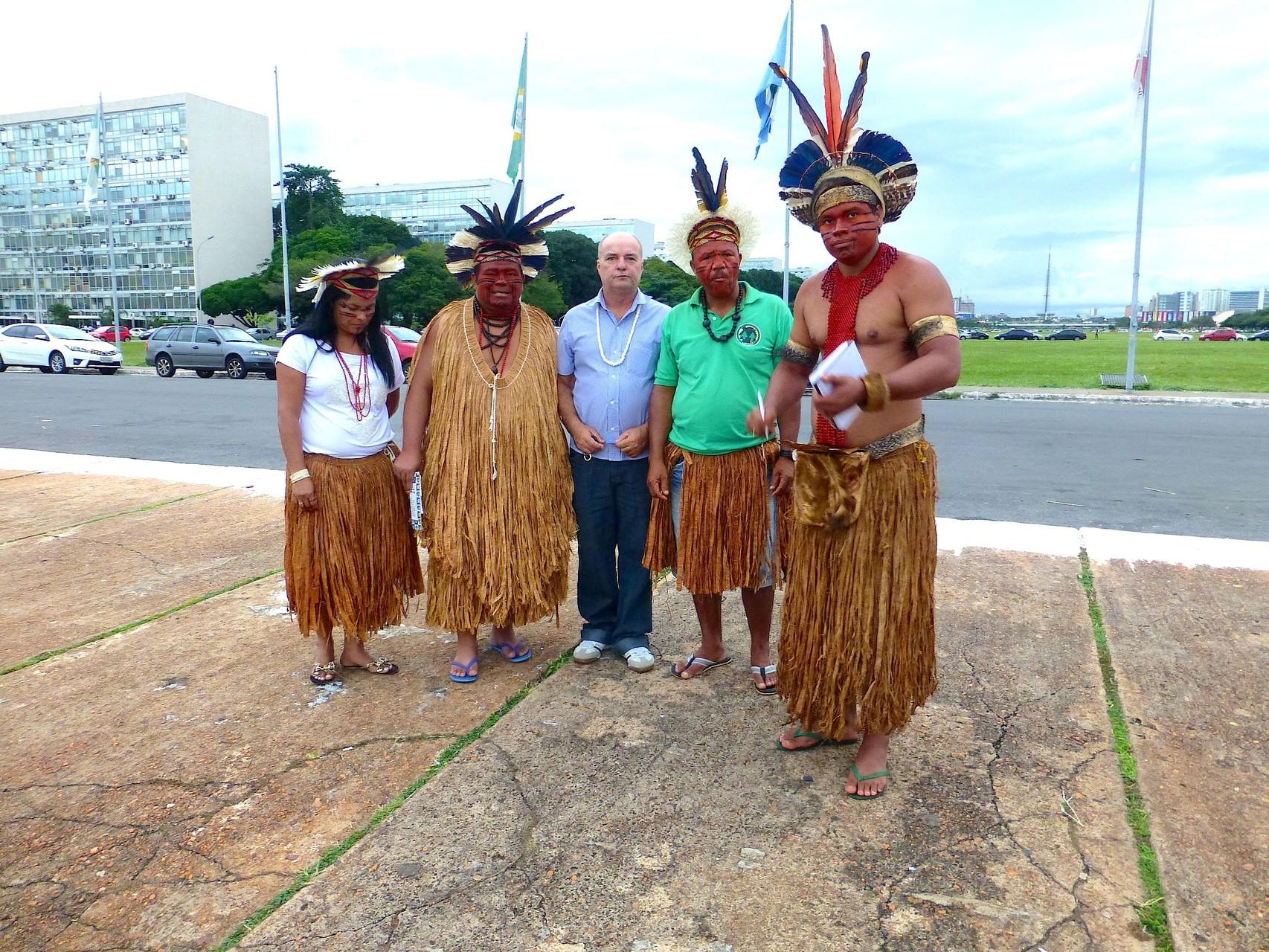 Demo für Landrechte der indigenen Völker