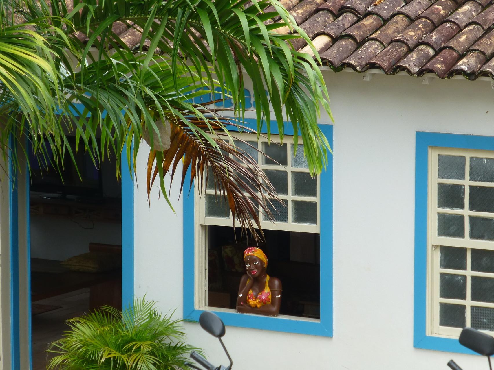 Fenstergucker aus Ton - Cidade de Goiás