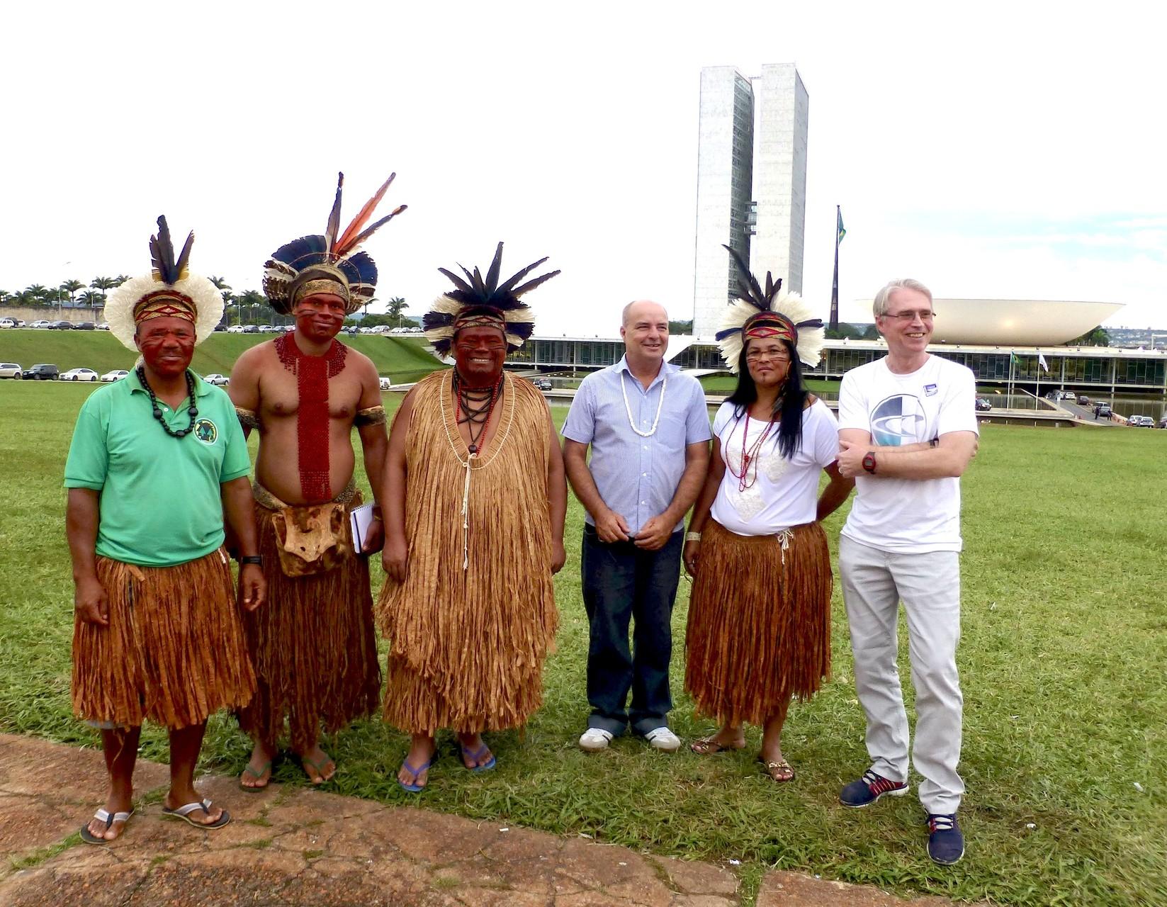 Gespräch mit Indigenen