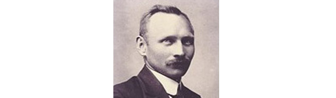 1922: Firmengründer Bernhard Resch