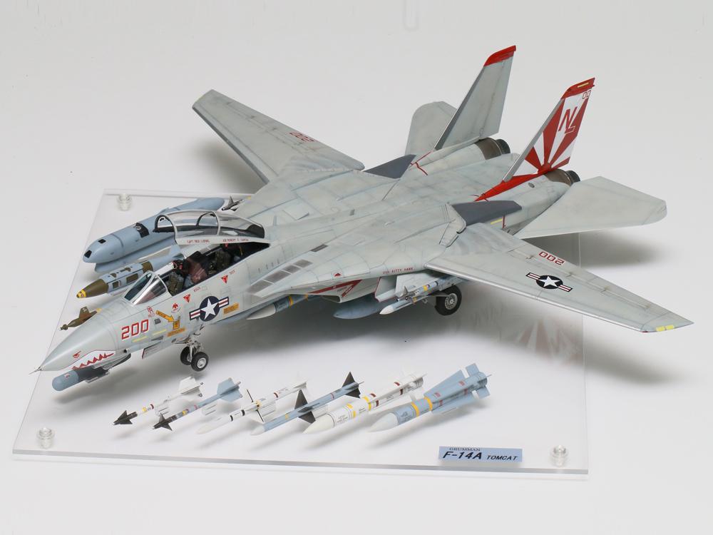 タミヤ賞 1/48傑作機部門 島田雅彦様 「F-14 and weapons」