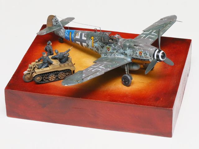 モデルアート賞 高須康夫様 「Digital for Bf109」