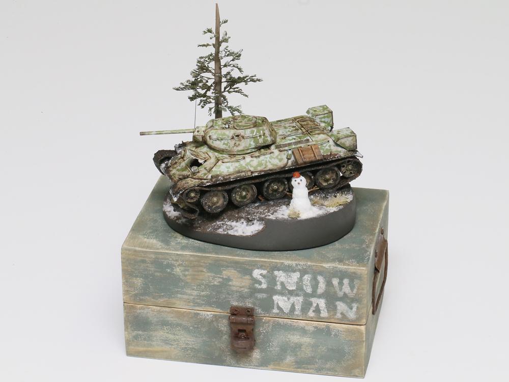 入賞 小松利奈子様 「SNOWMAN」