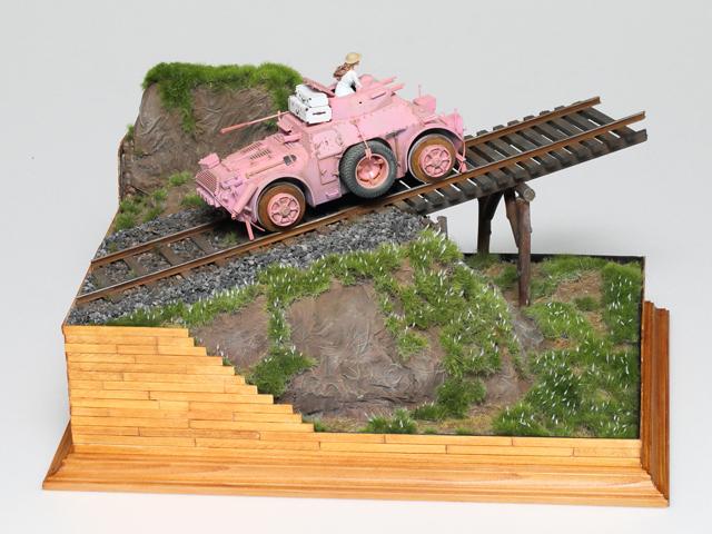 タミヤ プラモデルファクトリー賞 シン様 「旅」