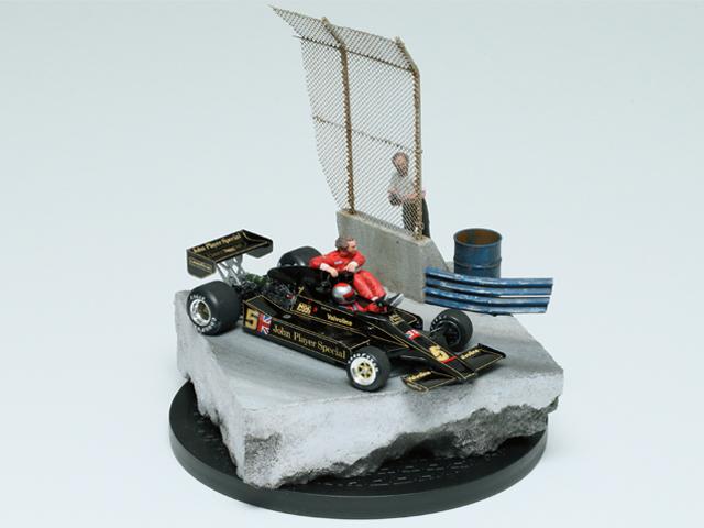 タミヤ賞一般部門 オオムラ ナオキ様 「Long Beach GP 1977」