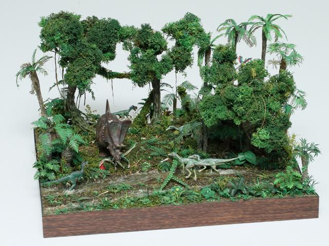 タミヤ プラモデルファクトリー賞 ヒロ様 「Dinosaur World」