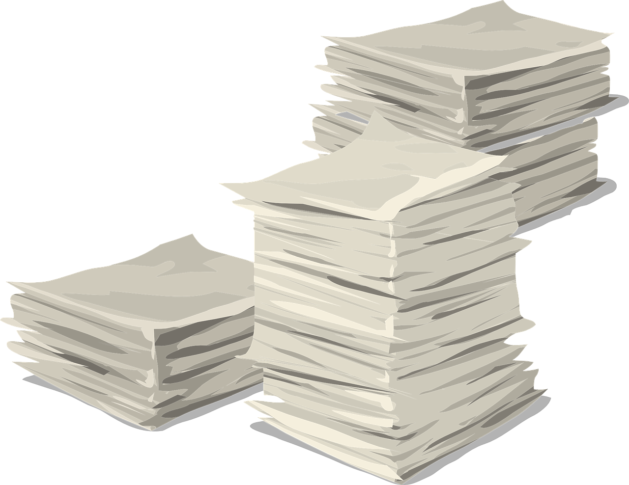 Paket mit Dokumenten geht verloren
