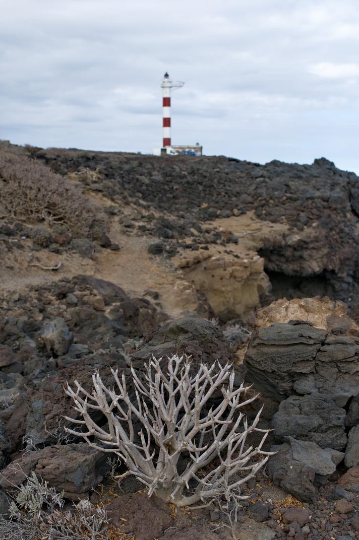 Der Leuchtturm von Porís de Abona, Tenerife