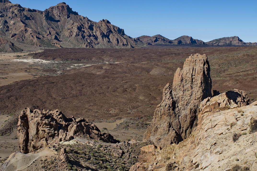 Caldera de las Cañadas, Teide, Tenerife