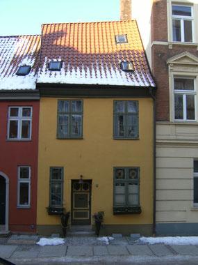 Gotische Bude Külpstr. 6 in Stralsund