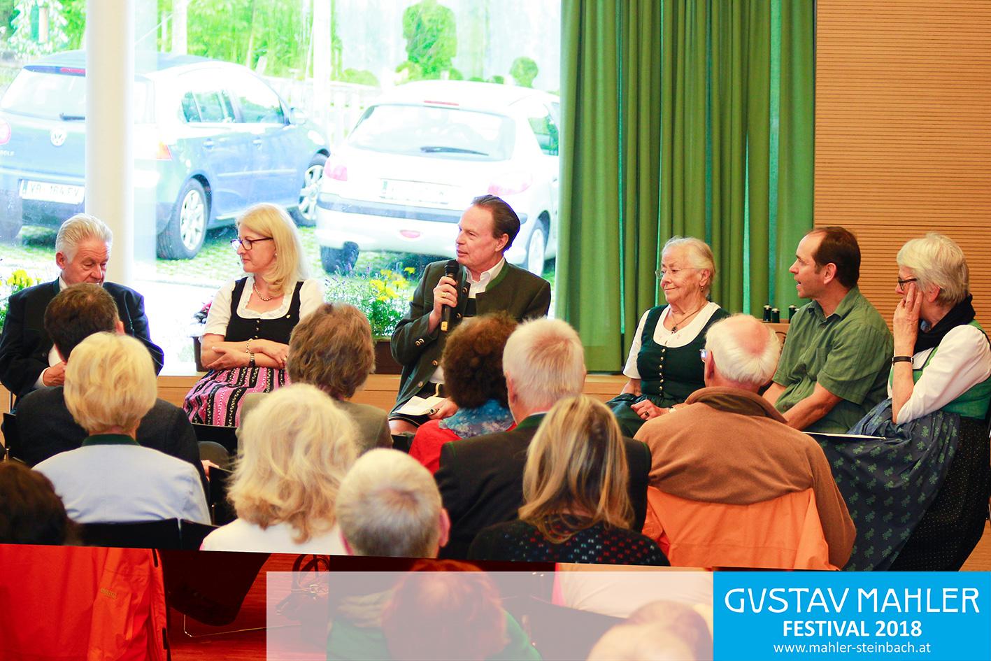 """Die Volkskultur als Kunst und Ritual"", Gustav Mahler Festival"