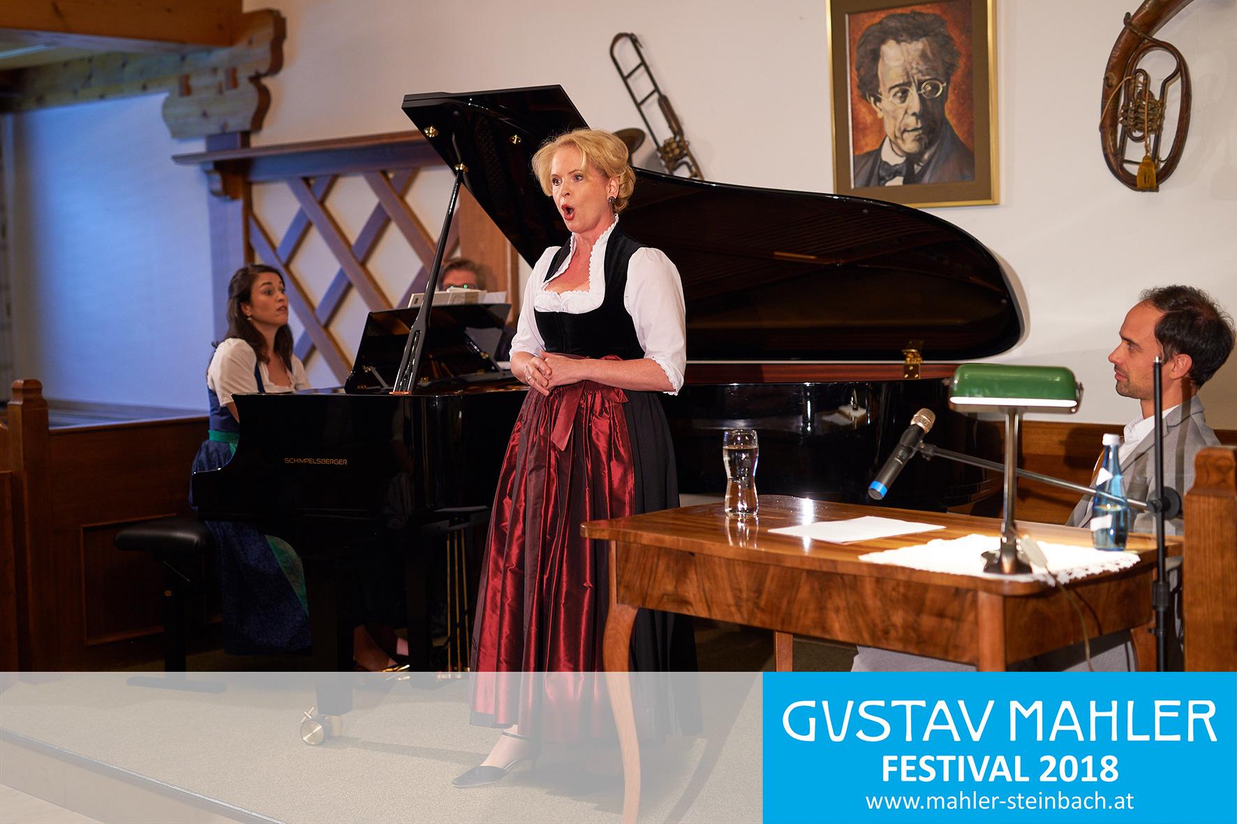 Birgid Steinberger singt Mahler Lieder, Mahler in Lied und Wort