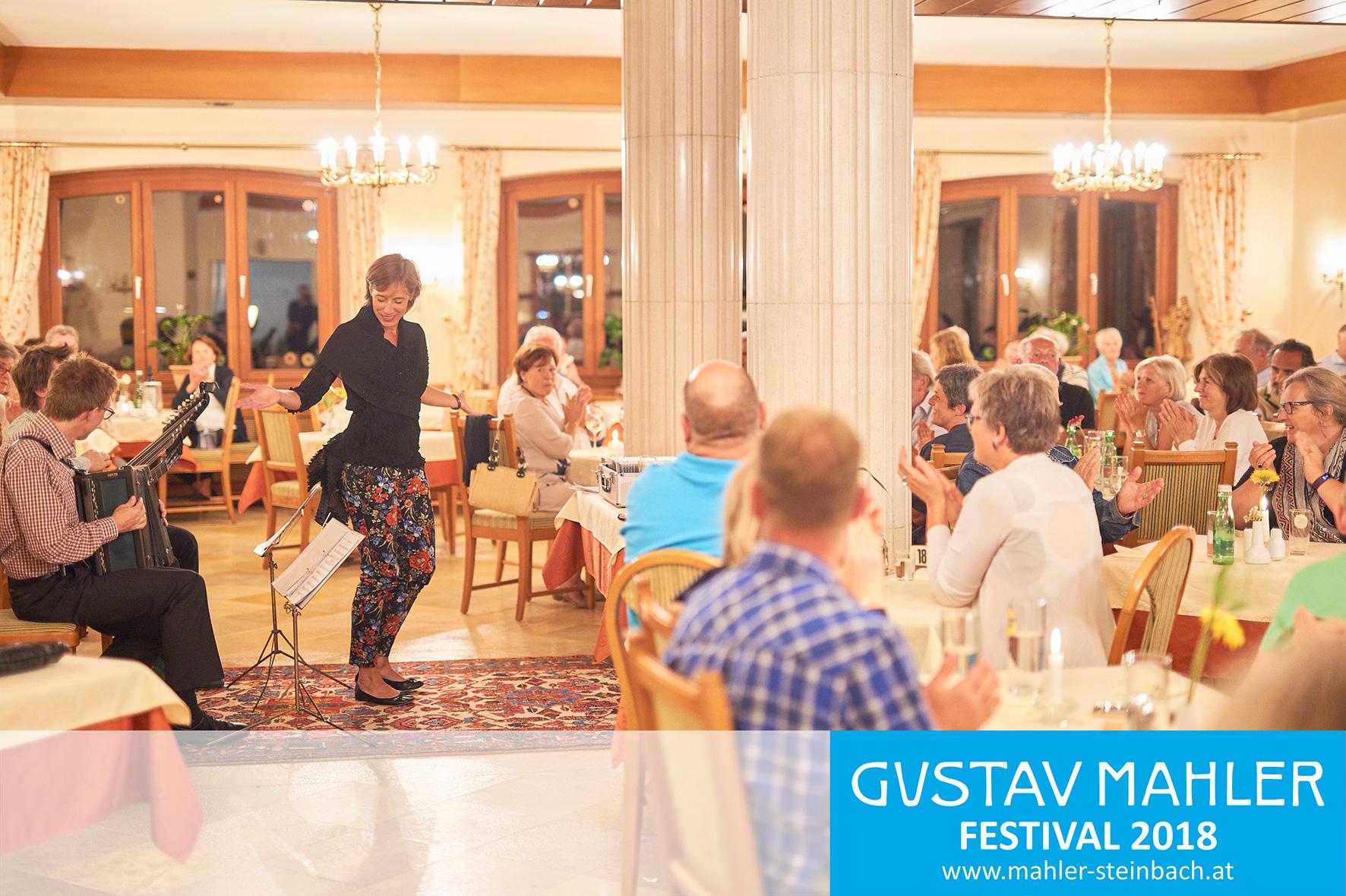 Agnes Palmisano Trio beim 3. Gustav Mahler Festival in Steinbach
