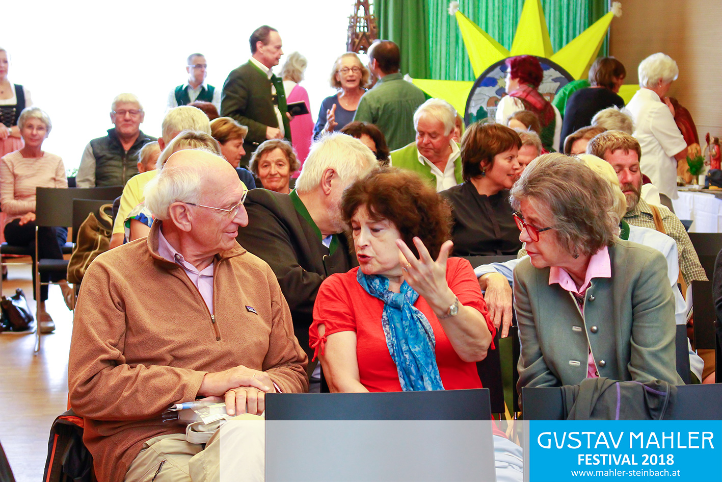 "Podiumsdiskussion ""Die Volkskultur als Kunst und Ritual"", Gustav Mahler Festival"