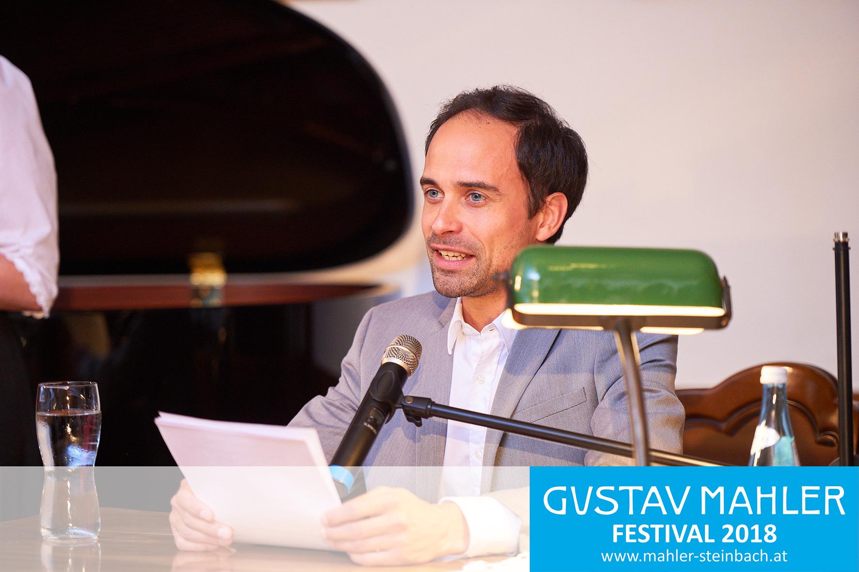 Lesung - Roman Blumenschein, Mahler in Lied und Wort