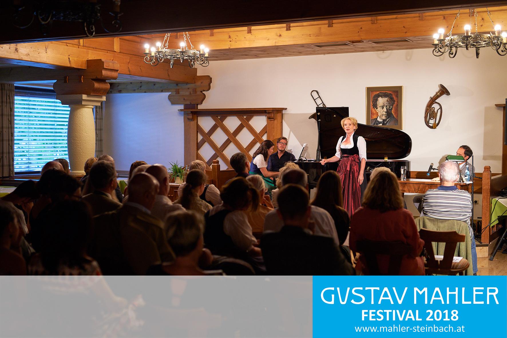 Mahler in Lied und Wort,  Eröfffnung 3. Gustav Mahler Festival
