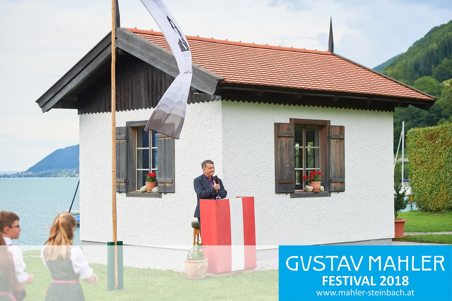 Intendant Dr. Morten Solvik, 3. Gustav Mahler Festival Steinbach