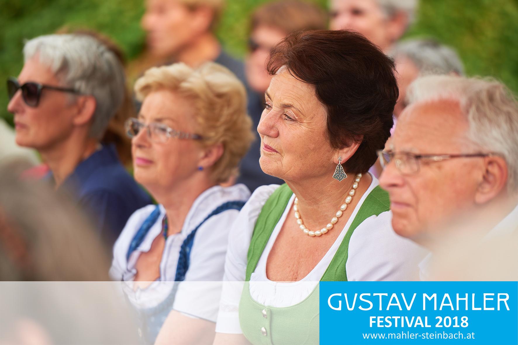 Eröffnung, 3. Gustav Mahler Festival Steinbach