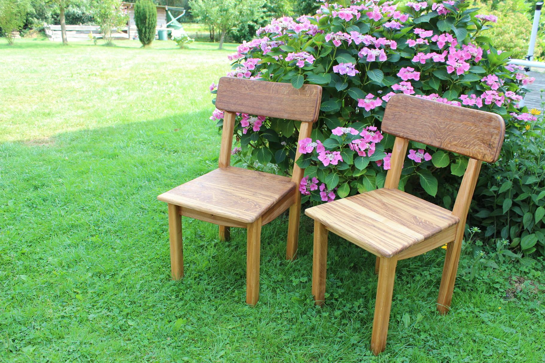Stühle aus Mooreiche