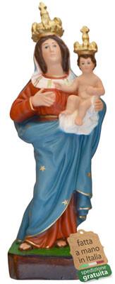 statua Madonna delle Grazie in resina cm. 35