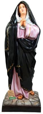 Statua Madonna Addolorata in vetroresina altezza cm 150