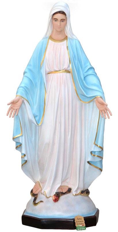 statua Madonna Immacolata adatta al trasporto