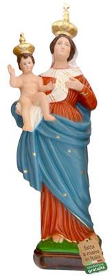 statua Madonna delle Grazie in resina cm. 55