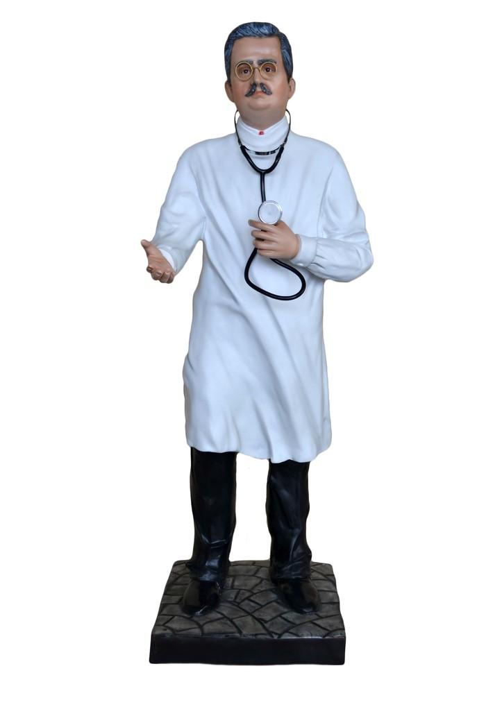 Statua vetroresina san giuseppe moscati spedizione gratis for Arredi interni san giuseppe vesuviano