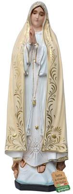 statua Madonna di Fatima in vetroresina cm. 87