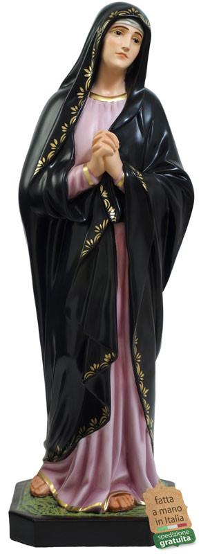 Statua Madonna Addolorata in vetroresina