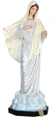statua Madonna di Medjugorje in vetroresina cm. 160