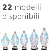 statua Madonna Miracolosa 22 modelli disponibili