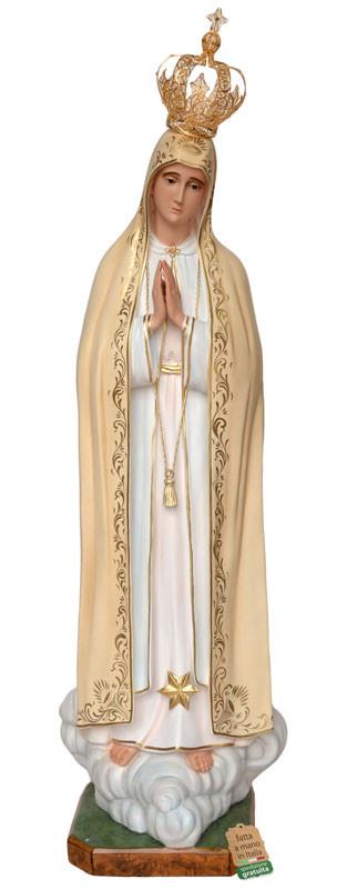 Statua Madonna di Fatima fatta a mano in Italia