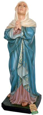 Statua Madonna Addolorata in vetroresina altezza cm 135