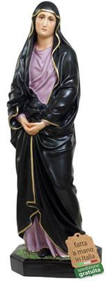 Statua Madonna Addolorata in resina altezza cm 85