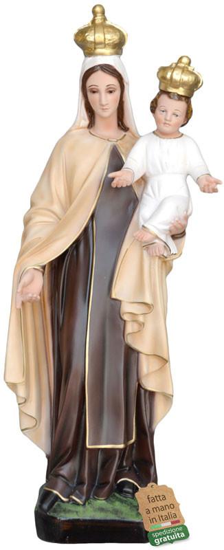 Statua Madonna del Carmine per giardino