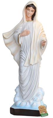 statua Madonna di Medjugorje in resina cm. 80