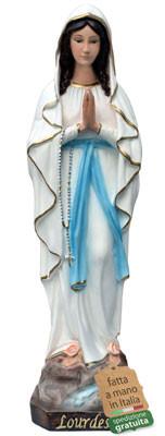 statua Madonna di Lourdes in resina cm. 50