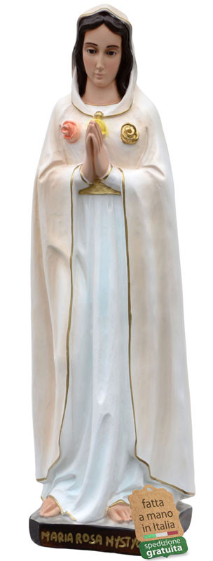 vendita statua Maria Rosa Mistica