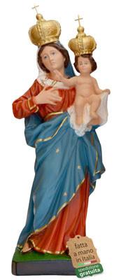statua Madonna delle Grazie in resina cm. 47