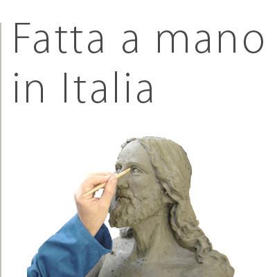 Statua Madonna con Bambino - Fatta a mano in Italia