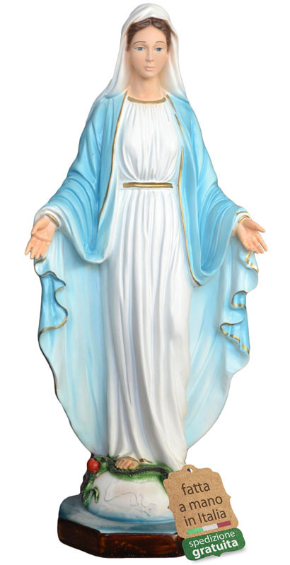 statua madonna miracolosa in resina