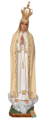 statua Madonna di Fatima in vetroresina cm. 180