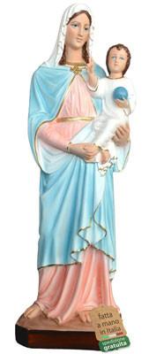statua Madonna con Bambino in resina cm. 65