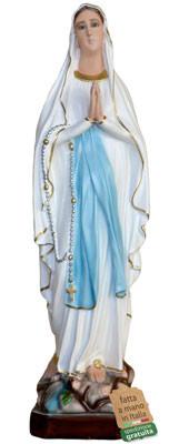 statua Madonna di Lourdes in resina cm. 73
