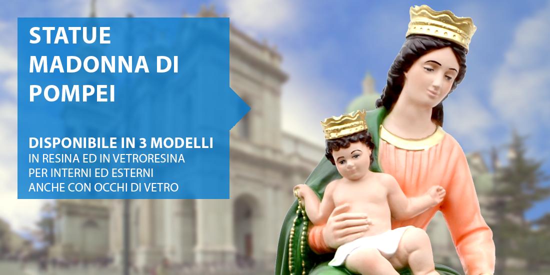 Statue Madonna di Pompei
